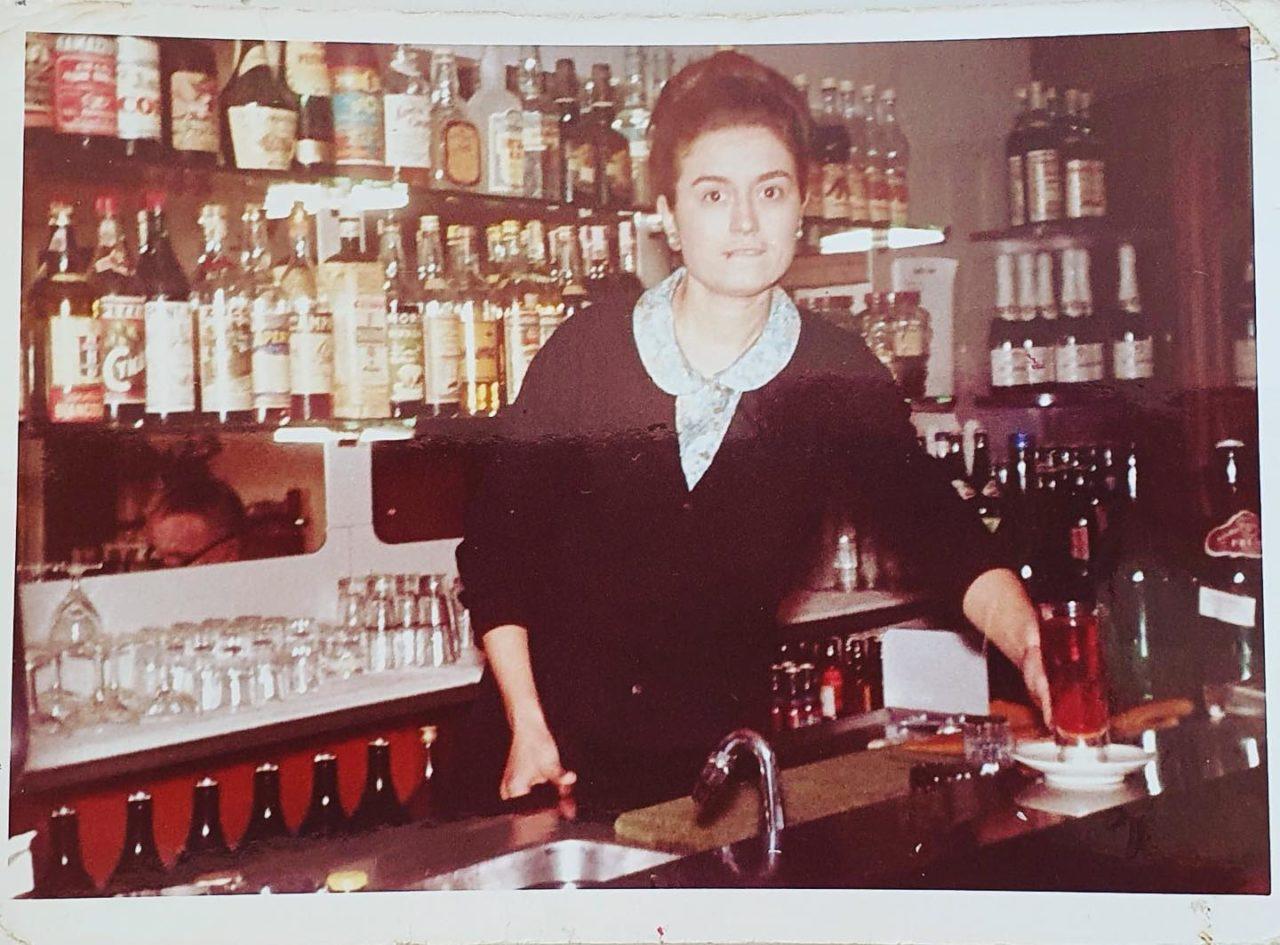 Isa Trattoria Casottel anni 60