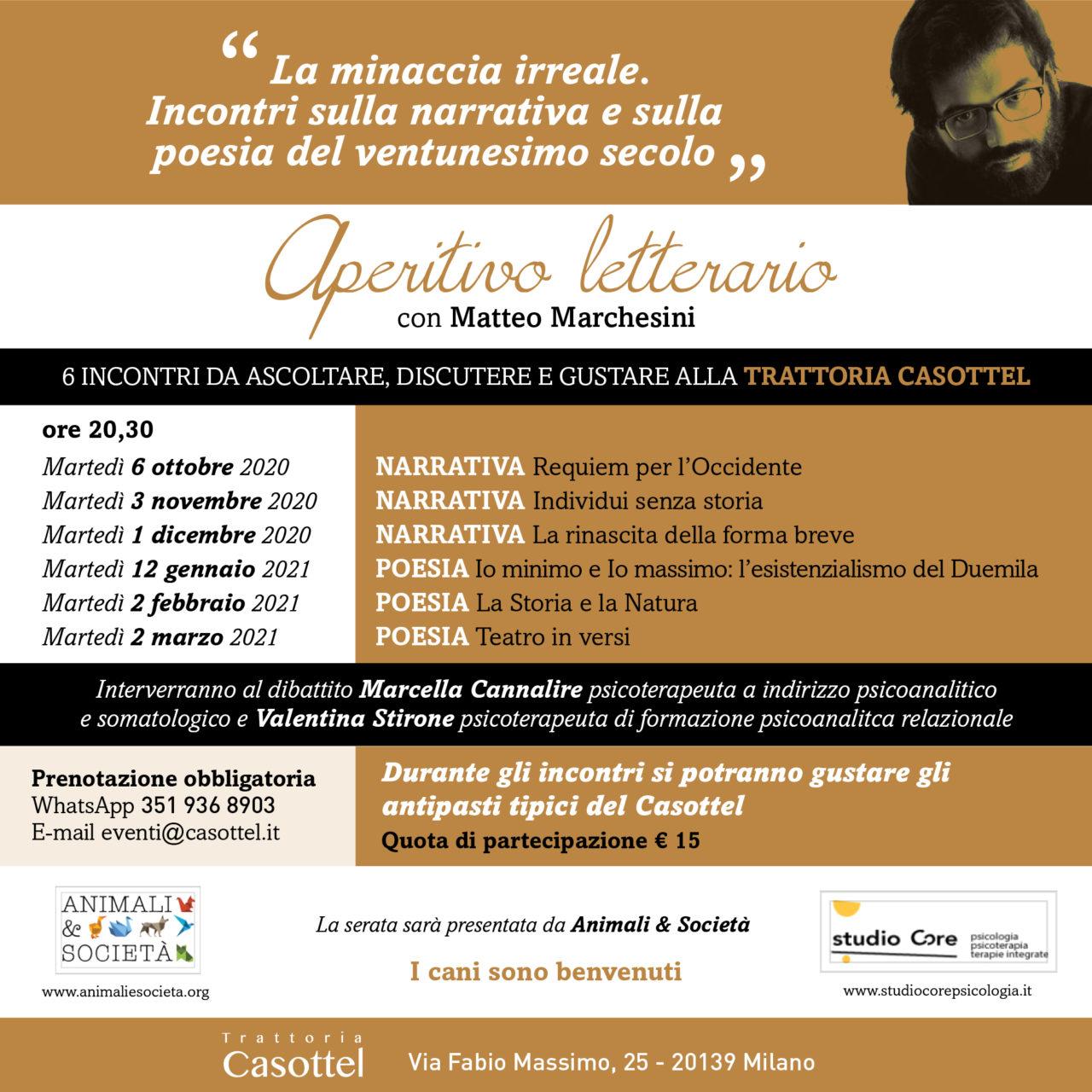 EVENTO LETTERAIO CASOTTEL